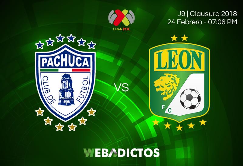 Pachuca vs León, Jornada 9 de Liga MX C2018 ¡En vivo por internet! - pachuca-vs-leon-clausura-2018-j9