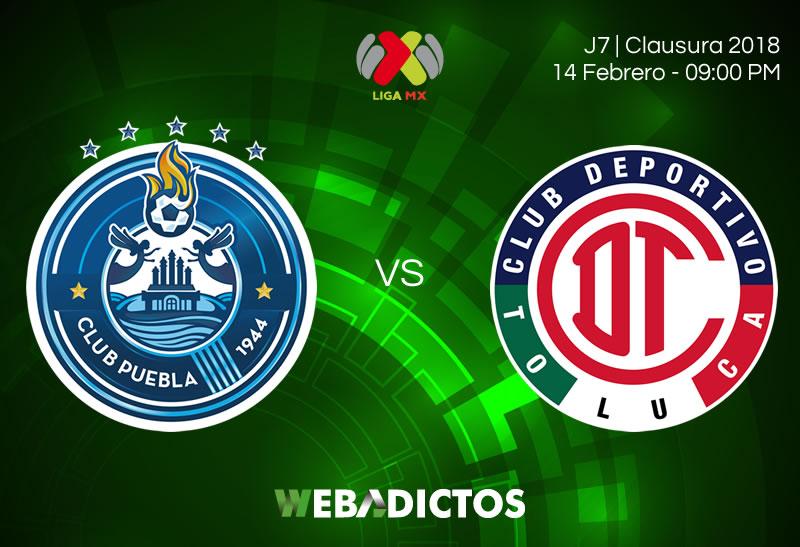Puebla vs Toluca, Jornada 7 del Clausura 2018 | Resultado: 2-0 - puebla-vs-toluca-clausura-2018-j7