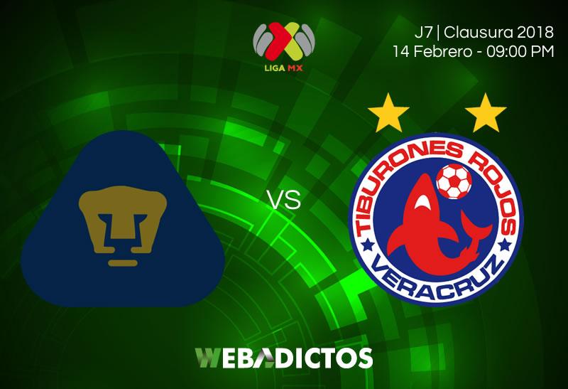 En dónde ver a Pumas vs Veracruz en la Jornada 7 del Clausura 2018 - pumas-vs-veracruz-clausura-2018-j7