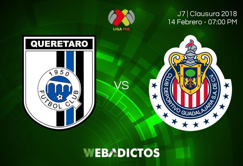 Transmisión de Querétaro vs Chivas en la Jornada 7 del C2018 - queretaro-vs-leon-clausura-2018-j7