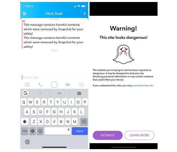 50 mil cuentas de Snapchat fueron comprometidas en un ataque phishing - snap-message-alert