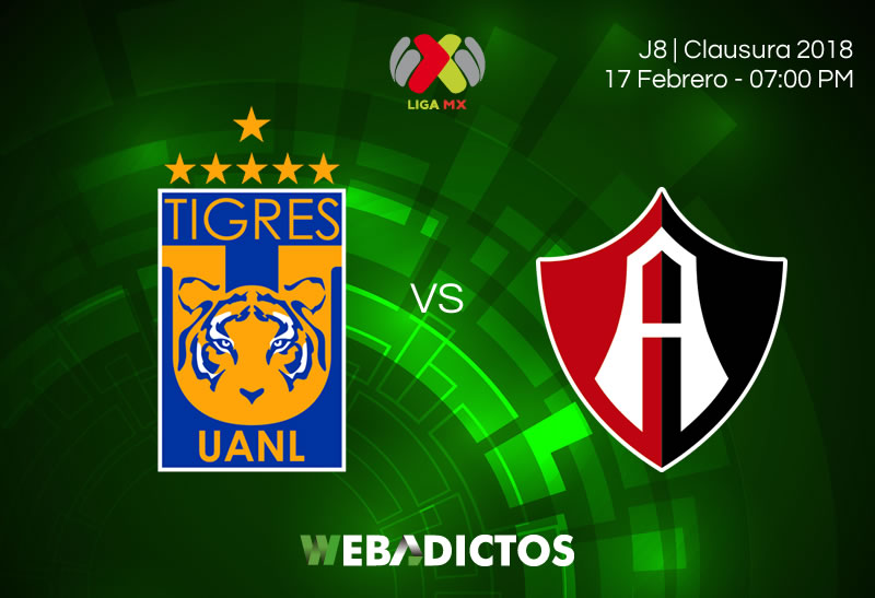 tigres vs atlas clausura 2018 j8 Tigres vs Atlas, Jornada 8 del Clausura 2018 ¡En vivo por internet!