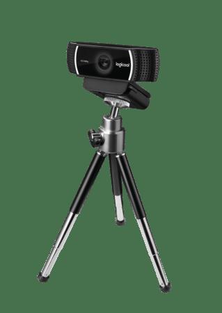 La webcam para que transmitas tus juegos como un gamer profesional - webcam-c922-logitech