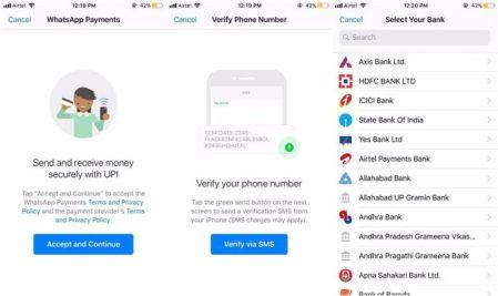 WhatsApp lanza su servicio de pagos móviles en India