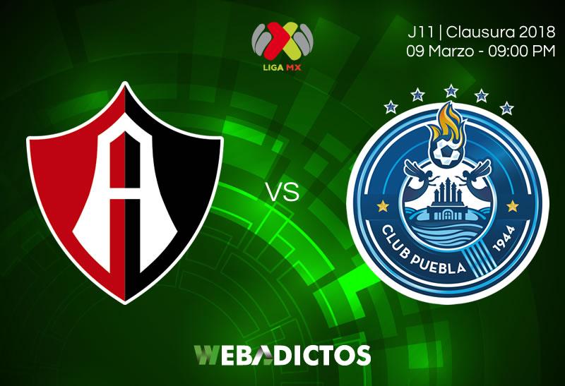 Atlas vs Puebla, Fecha 11 de la Liga MX C2018 ¡En vivo por internet! - atlas-vs-puebla-clausura-2018-j11