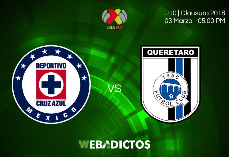 Cruz Azul vs Querétaro: Cómo verlo por internet | Liga MX J10 C2018 - cruz-azul-vs-queretaro-clausura-2018-j10