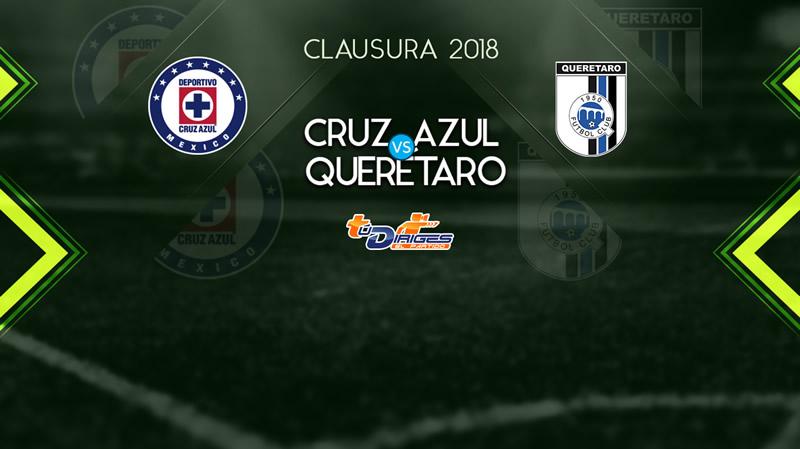 Cruz Azul vs Querétaro: Cómo verlo por internet | Liga MX J10 C2018 - cruz-azul-vs-queretaro-televisa-deportes-3-marzo