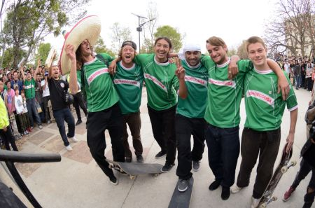 DC LATAM Super Tour 2018: equipo Skate de DC Shoes global en México