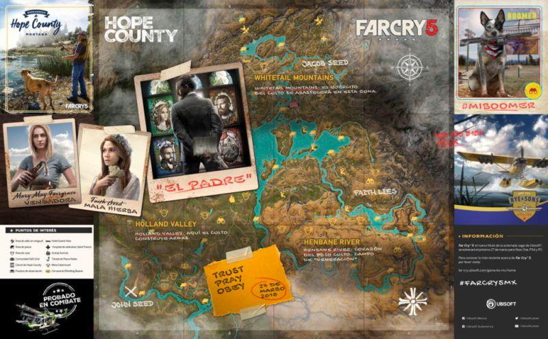 Far Cry 5 ¡Conoce el demencial Hope County, Montana! - far-cry-5-hope-county-montana_1-800x496