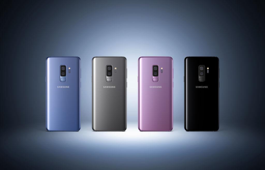 El Galaxy S9+, galardonado con más de 30 premios en el MWC 2018 - galaxy-s9-colores