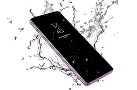 Samsung Galaxy S9 y S9+ llega a México - galaxy-s9-y-s9plus-resistencia-al-agua-y-polvo-450x296