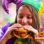 Mardi Gras Carnaval llega a Six Flags México del del 9 de marzo al 13 de Mayo - mardi-gras-hamburguesa-cajun