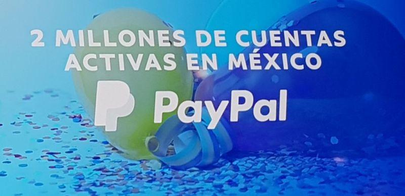 PayPal llega a los dos millones de cuentas activas en México - paypal-llega-a-los-dos-millones-de-cuentas-activas-en-mexico-800x388