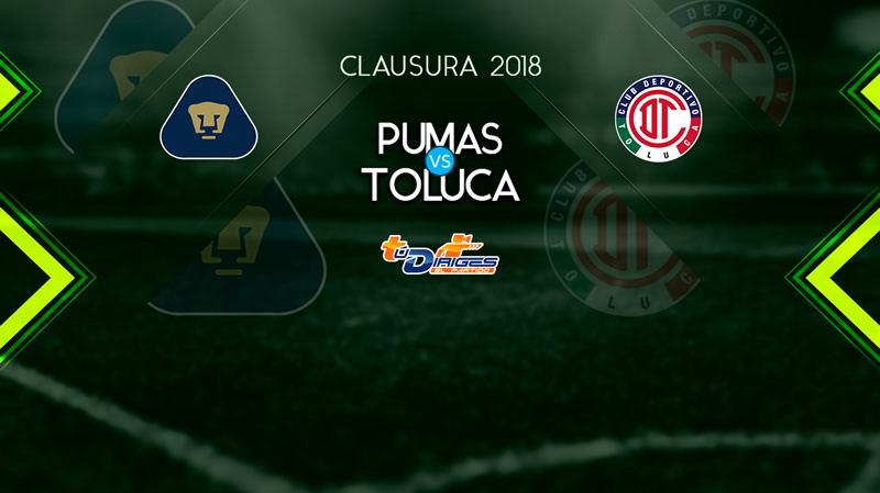 Pumas vs Toluca, Jornada 11 del Clausura 2018 ¡En vivo por internet! - pumas-vs-toluca-televisa-deportes-11-marzo