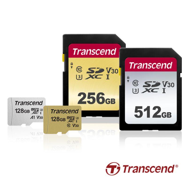 Transcend lanza nuevas Tarjetas SD y MicroSD con grandes capacidades - tarjetas-de-memoria-sd-microsd-500s-300s-800x800