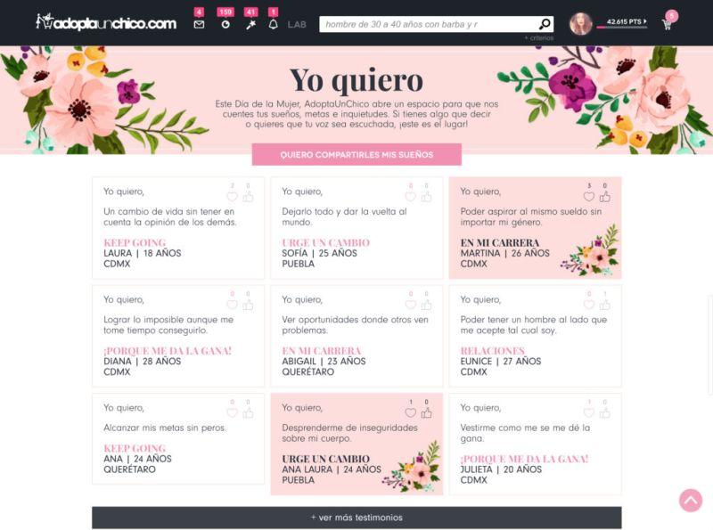 yoquieromx 800x595 Yo Quiero, una campaña para que las mexicanas alcen la voz