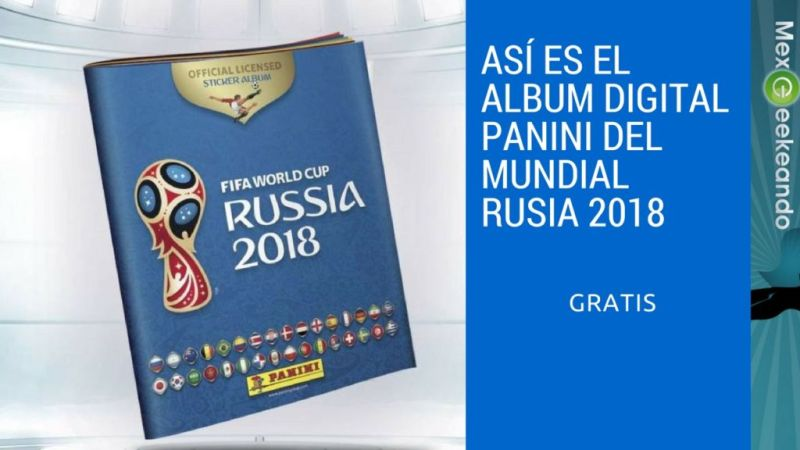 ¿Ya Conoces el Álbum Panini Digital de Rusia 2018? Es Gratis - album-digital-panini-rusia-2018-800x450