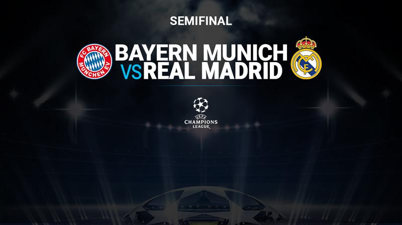 Bayern Munich vs Real Madrid, Semifinal Champions 2018 ¡En vivo por internet! | IDA - bayern-vs-rea-madrid-televisa-deportes-2018