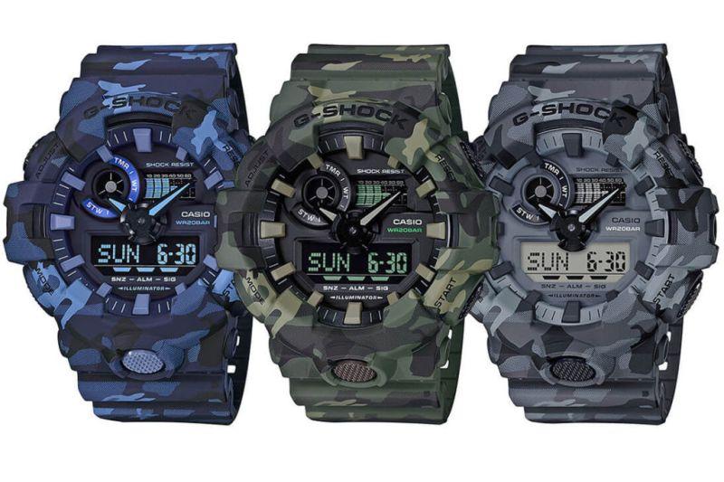 La nueva serie deCamouflagede G-SHOCK - camouflage-de-g-shock-800x533