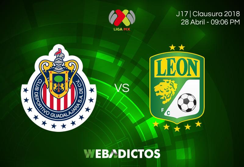 Chivas vs León, Jornada 17 Clausura 2018 ¡En vivo por internet! - chivas-vs-leon-clausura-2018
