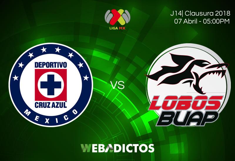 Cruz Azul vs Lobos BUAP, J14 del Clausura 2018 ¡En vivo por internet! - cruz-azul-vs-lobos-buap-clausura-2018-jornada-14