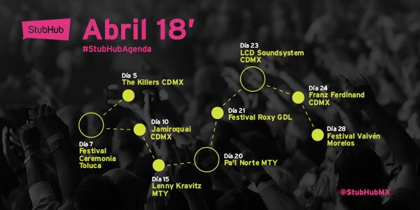 Eventos en abril ¡Que no te puedes perder! - eventos-imperdibles-en-abril