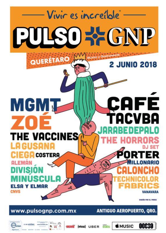 Anuncian la primera edición del Festival Pulso GNP ¡conoce la cartelera!