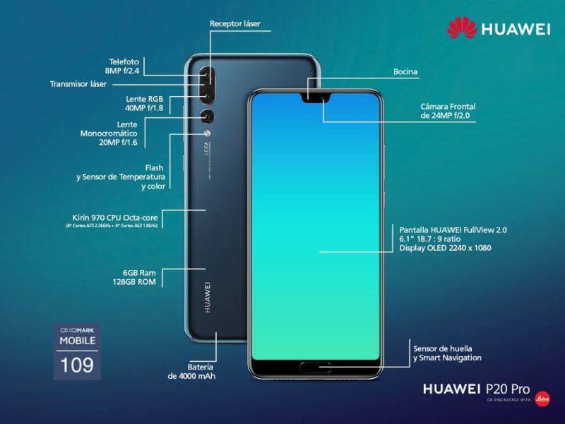 Huawei P20 y P20 Pro llegan a México ¡conoce sus atractivos precios y promociones! - huawei-p20-y-p20-pro-mexico-800x600