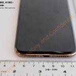 Un iPhone X en color oro se aparece en documentación de la FCC - ix-bottom