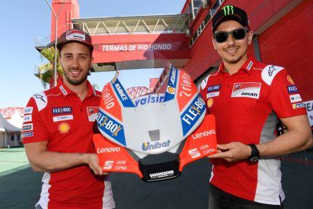Lenovo se une al Team Ducati MotoGP como socio tecnológico