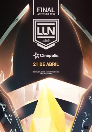 Disfruta de la final de la LLN 2018 en Cinépolis