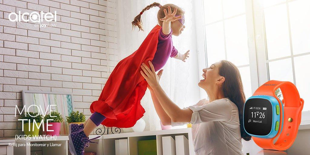 Smartwatch para niños Alcatel Movitime ¡regalo ideal para este día del niño! - movetime-smartwatch-alcatel