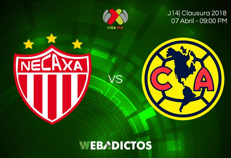 Necaxa vs América, Jornada 14 de Liga MX C2018 ¡En vivo por internet! - necaxa-vs-america-clausura-2018-jornada-14