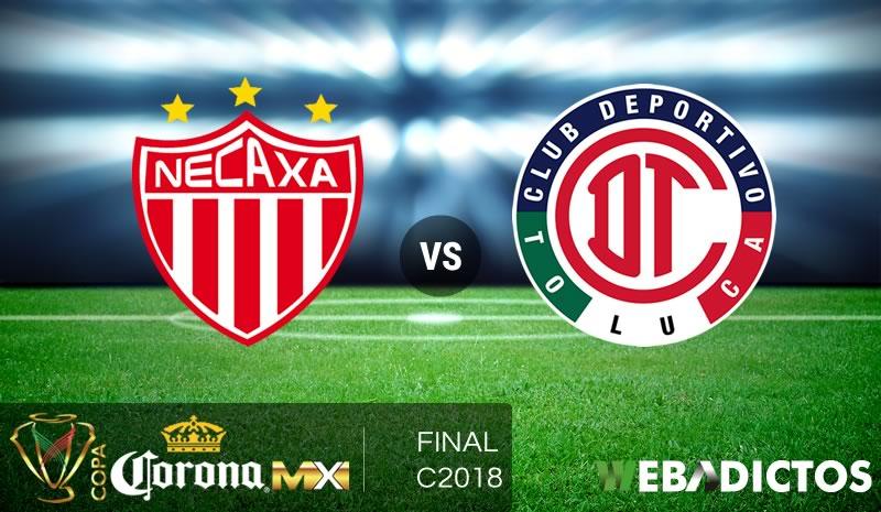 Necaxa vs Toluca, Final de Copa MX C2018 ¡En vivo por internet! - necaxa-vs-toluca-final-copa-mx-c2018