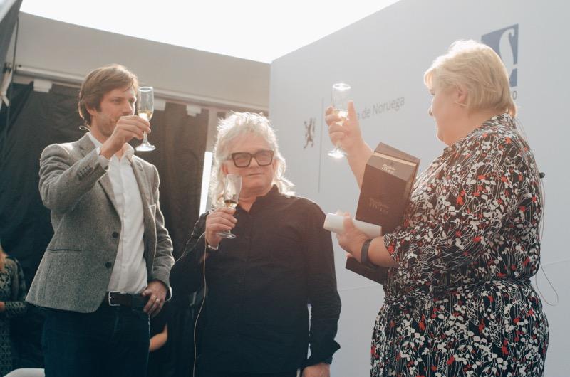 Segundamano.mx y oiid, firmas tecnológicas noruegas se unen en el Foro de Innovación y Cultura de la CDMX - pal-hauff-gisle-johnsen-y-erna-solberg
