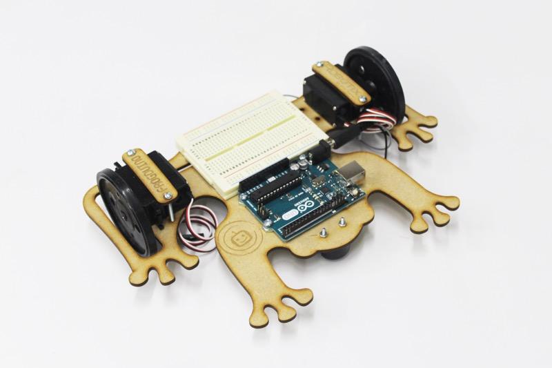 5 juguetes tecnológicos para este día del niño - robot-frogduino