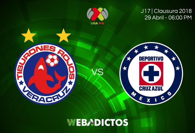 Veracruz vs Cruz Azul, Fecha 17 del Clausura 2018 ¡En vivo por internet! - veracruz-vs-cruz-azul-clausura-2018