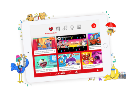 YouTube kids, niños responsables en Internet