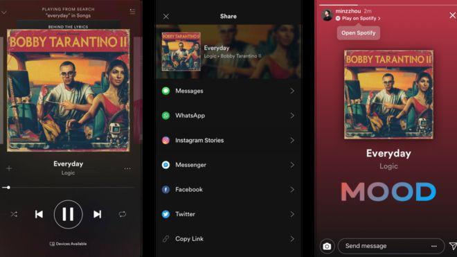 Las nuevas funciones de Instagram... ¡Ahora con Spotify! - 101171044_stories