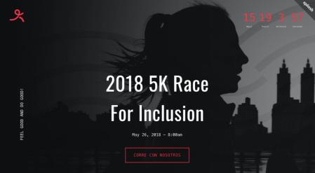5k Race for Inclusion, carrera por la inclusión tecnológica