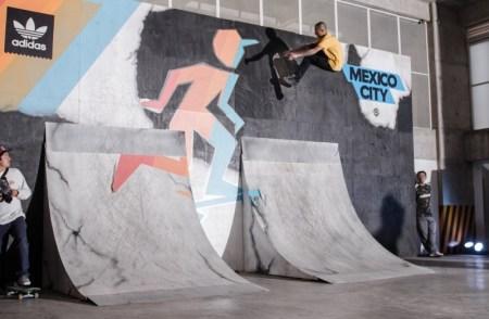 Adidas skateboarding pisó fuerte en la ciudad de México