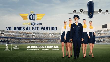 AeroCorona, el vuelo que te lleva al 5º partido ¡acompaña a la Selección Nacional a Rusia!