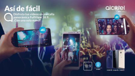 Alcatel presenta en México nuevas series de smartphones: Alcatel 3C, 3X y 5
