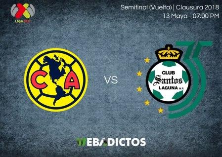 América vs Santos, Semifinal del Clausura 2018 ¡En vivo por internet!