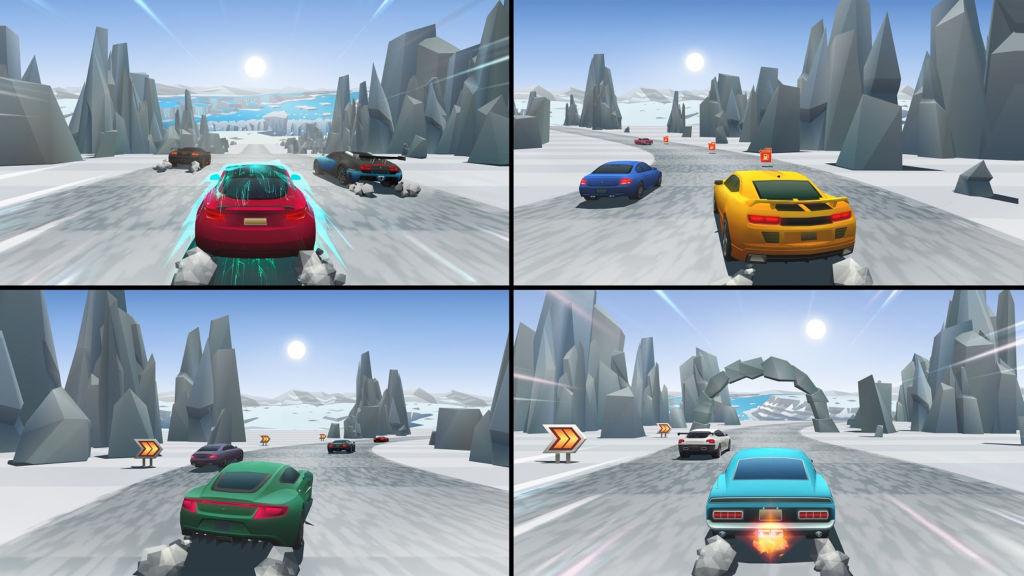 El frenético arcade de carreras Horizon Chase Turbo en PS4 y Steam - carreras-horizon-chase-turbo_3