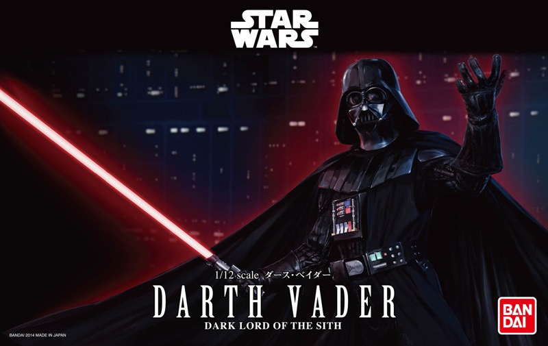 Bandai Hobby de Star Wars, nueva línea de juguetes para armar ¡llega a México! - darth-vader-star-wars-the-force-awakens