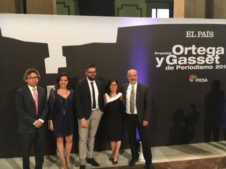 La Estafa Maestra, premio 'Ortega y Gasset 2018' para periodistas mexicanos