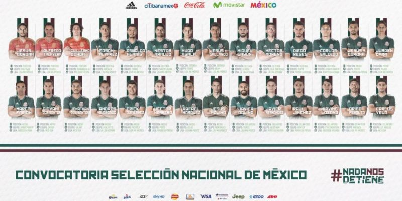 Conoce la lista preliminar de convocados a la Selección Mexicana para Rusia 2018 - ddllqgrv4aajbs-800x400