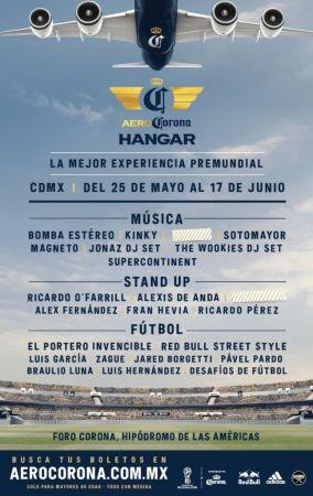 Hangar AeroCorona estará en la Ciudad de México