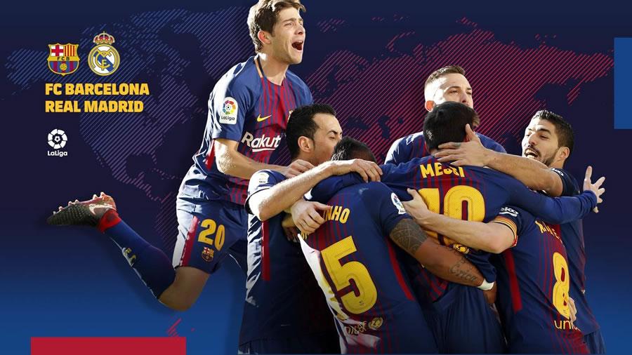A qué hora juega Barcelona vs Real Madrid y en qué canal ver El Clásico 2018 - horario-barcelona-vs-real-madrid-clasico-2018